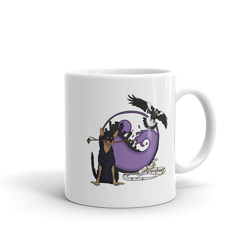 Animal Totem - White glossy mug