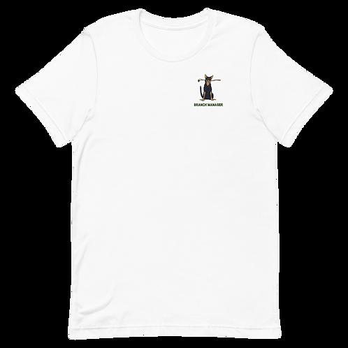 Branch Manager - Short-Sleeve Unisex T-Shirt