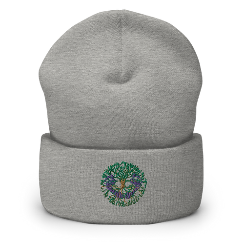 Virtual Footprints Official Merchandise - Logo Cuffed Beanie