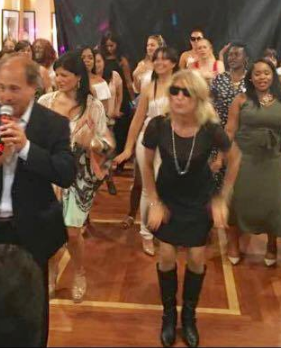 Rocco Sings My Girl and Guest Dance