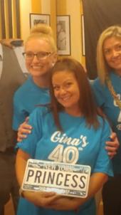 Gina's Birthday Celebration