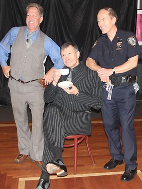Johnny The New Mob Boss with The Detective and NYPD's Finest