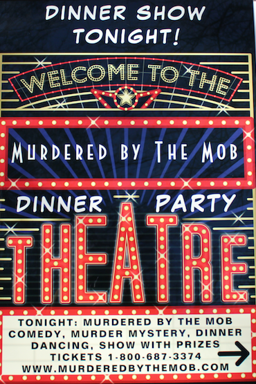 Murdered by The Mob Show tonight sign_ed