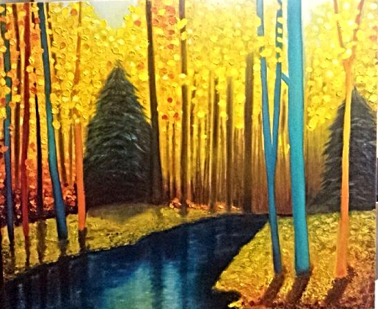 Gold Landscape