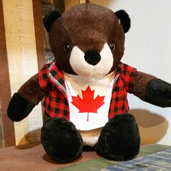 Our mascot for Canada Day 150