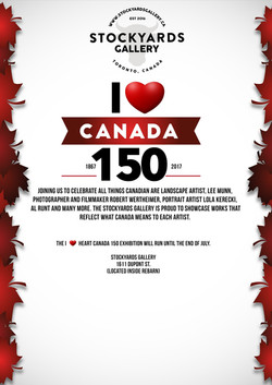 I Heart Canada 150 Exhibition
