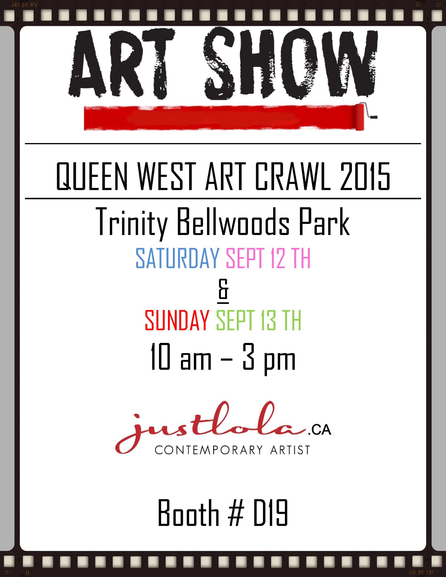 QUEEN WEST ART CRAWL 2015