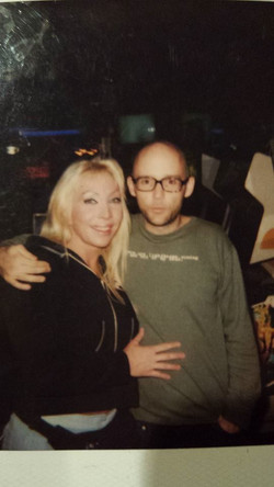 Artist JustLola & Singer Moby