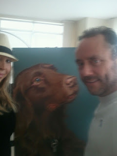 Lola with Maja & W. Brett Wilson
