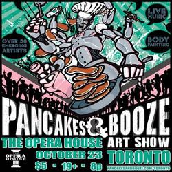 Pancakes & Booze Art Show Toronto