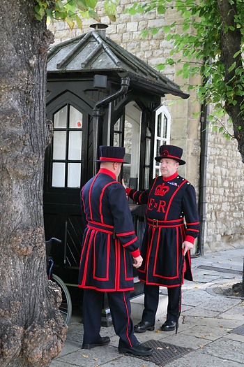 Bill Callaghan at The Tower of London
