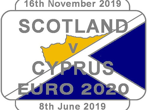 Cyprus Euro 2020 Qualifier Badge 2019