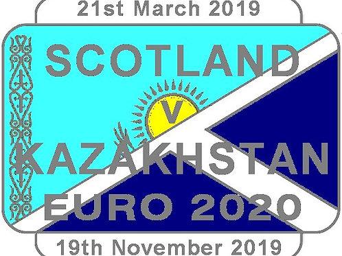 Kazakhstan Euro 2020 Qualifier Badge 2019