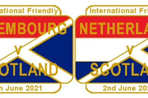 Netherlands & Luxembourg Friendly Matches June 2021