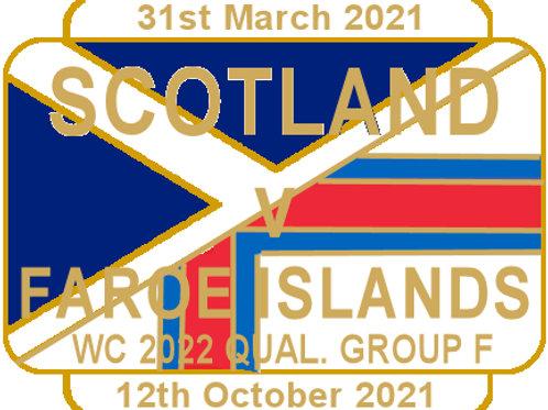 Faroe Islands WC22 Qualifying Group F