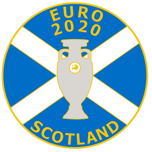 Scotland Euro 2020 Badge