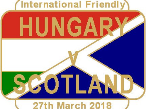 Hungary Friendly Match Badge 2018