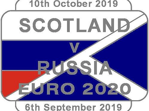 Russia Euro 2020 Qualifier Badge 2019