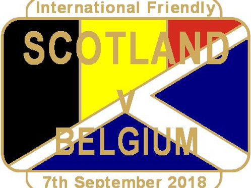 Belgium Friendly Match Badge Sept 2018