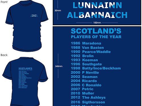 Scotland's POTY 2018 T-Shirt