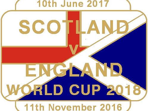 England (WC2018) Match Badge