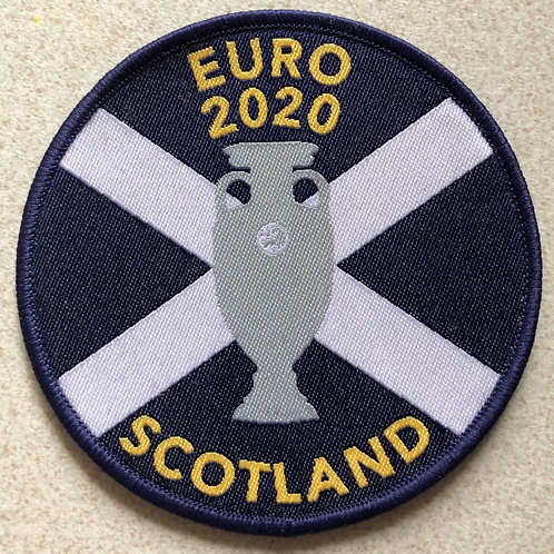 Pack of 3 Scotland Euro 2020 Sew On Badges