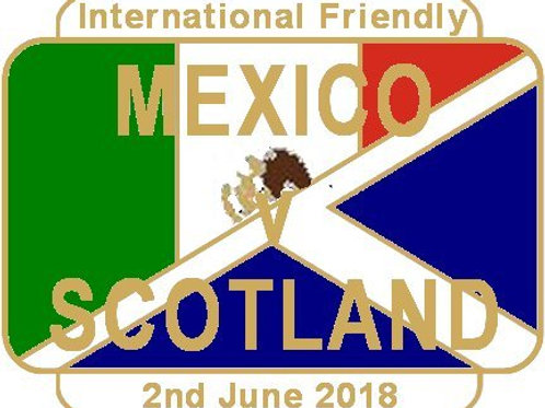 Mexico Friendly Match Badge June 2018