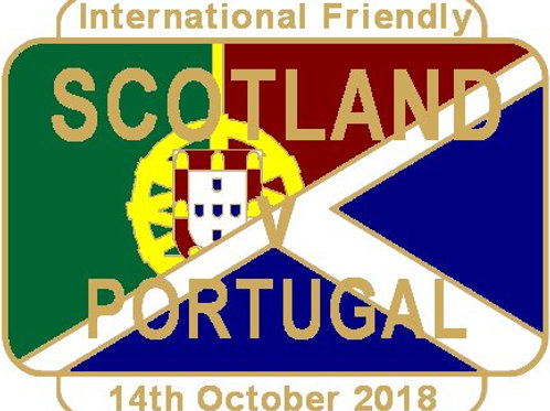 Portugal Friendly Match Badge Oct 2018