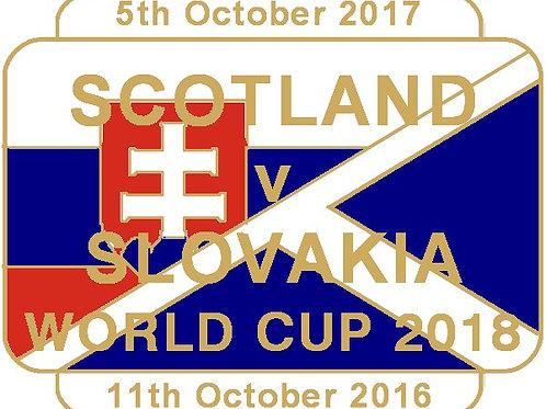 Slovakia (WC2018) Match Badge