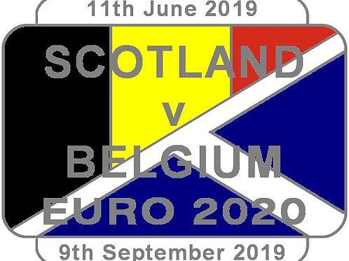 Belgium Euro 2020 Qualifier Badge 2019