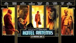 Hotel Artemis: Entretiene