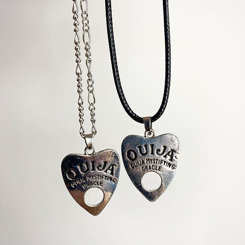 Tibetan Silver Witchy Ouija Necklace - 2 (Choose Your Chain)