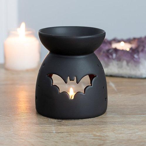 Black Bat Cut Out Oil/Wax Melt Burner