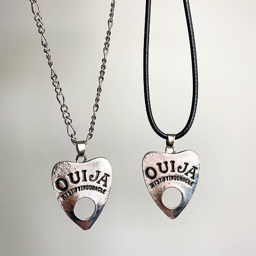 Tibetan Silver Witchy Ouija Necklace (Choose Your Chain)