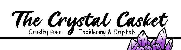 Crystal Casket Banner