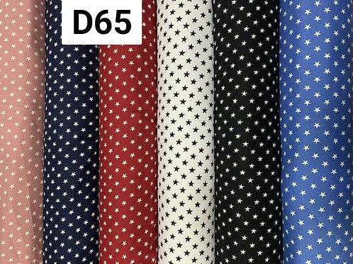 ผ้าโฟร์เวย์พิมพ์ลาย D65