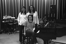 Portsmouth Music Club-Informal Photo post concert-Anna Stokes and Katherine Rockhill May 2017