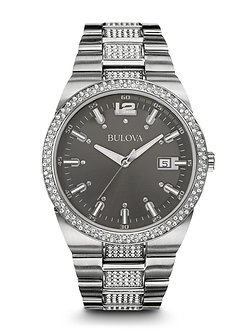 Men's Crystal Watch
