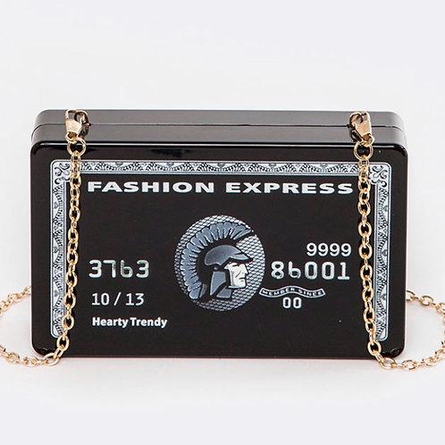 Da Black Card Linked Shoulder Bag