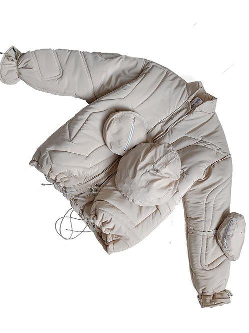 COMMON SHAPE_bag jacket