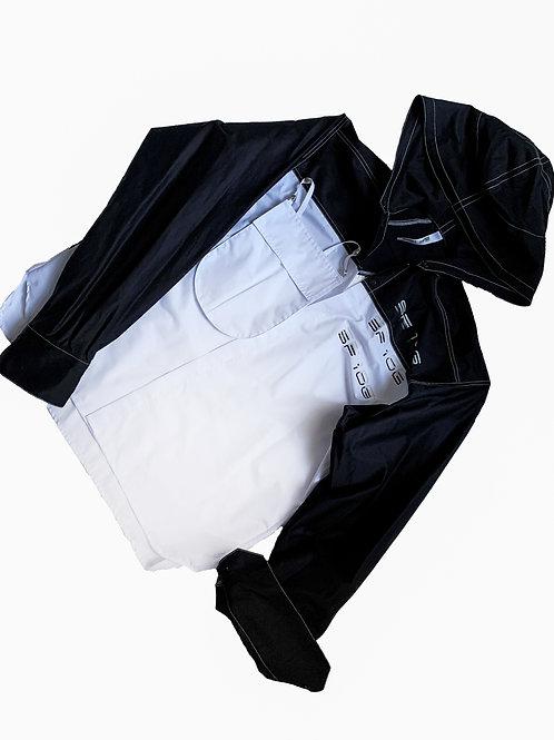 COMMON SHAPE_contrast p shirt