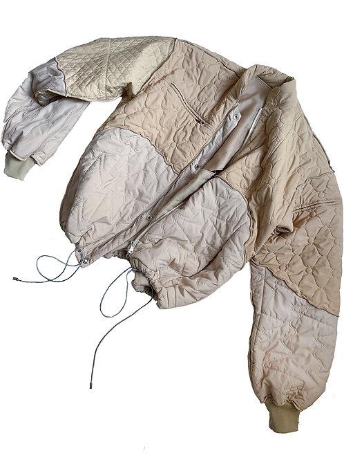 COMMON SHAPE_beige jacket