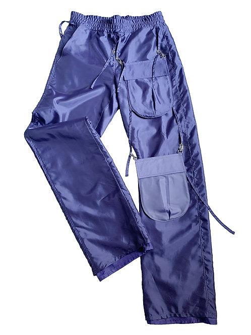 COMMON SHAPE_purple pocket pants