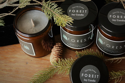 Forest 100% Natural Soy Candle