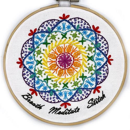 copy of Pre-Order! Hoopla Mandala Sampler Stitching Embroidery Kit