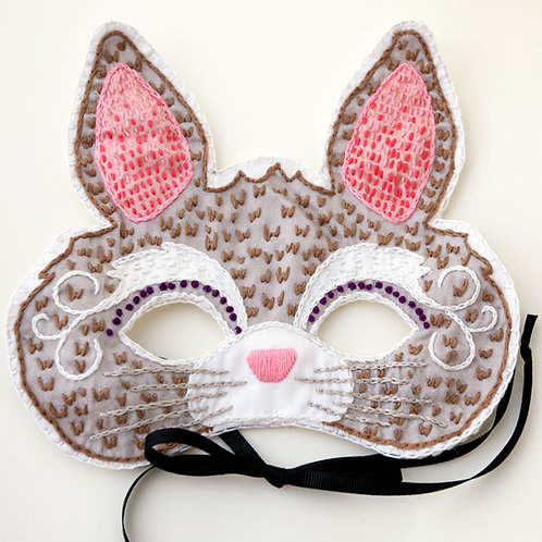 Bunny Mask Sewing kit