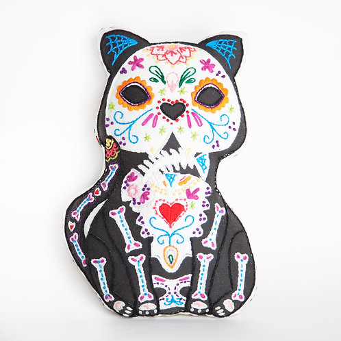 Day of the Dead Cat Sewing kit