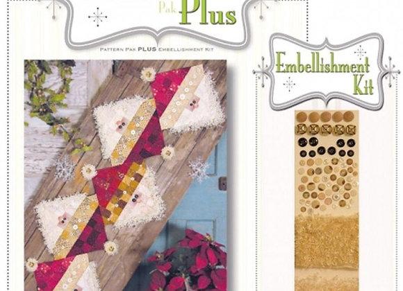 Happy Hallow Designs - Button Santa Pattern Pak Plus