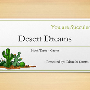 Desert Dreams Digitizing Class - Block Three Cactus