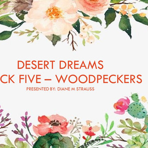 Desert Dreams Digitizing Class - Block Five Woodpecker